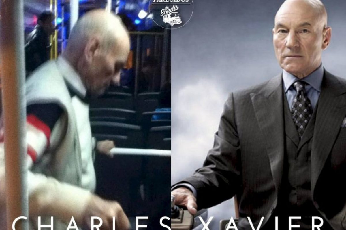 Charles Xavier Foto:Parecidos De Bondis/Facebook. Imagen Por: