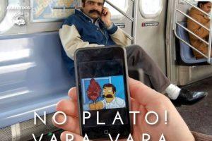 """El iraquí del capítulo de Homero en Nueva York en """"Los Simpsons"""" Foto:Parecidos De Bondis/Facebook. Imagen Por:"""