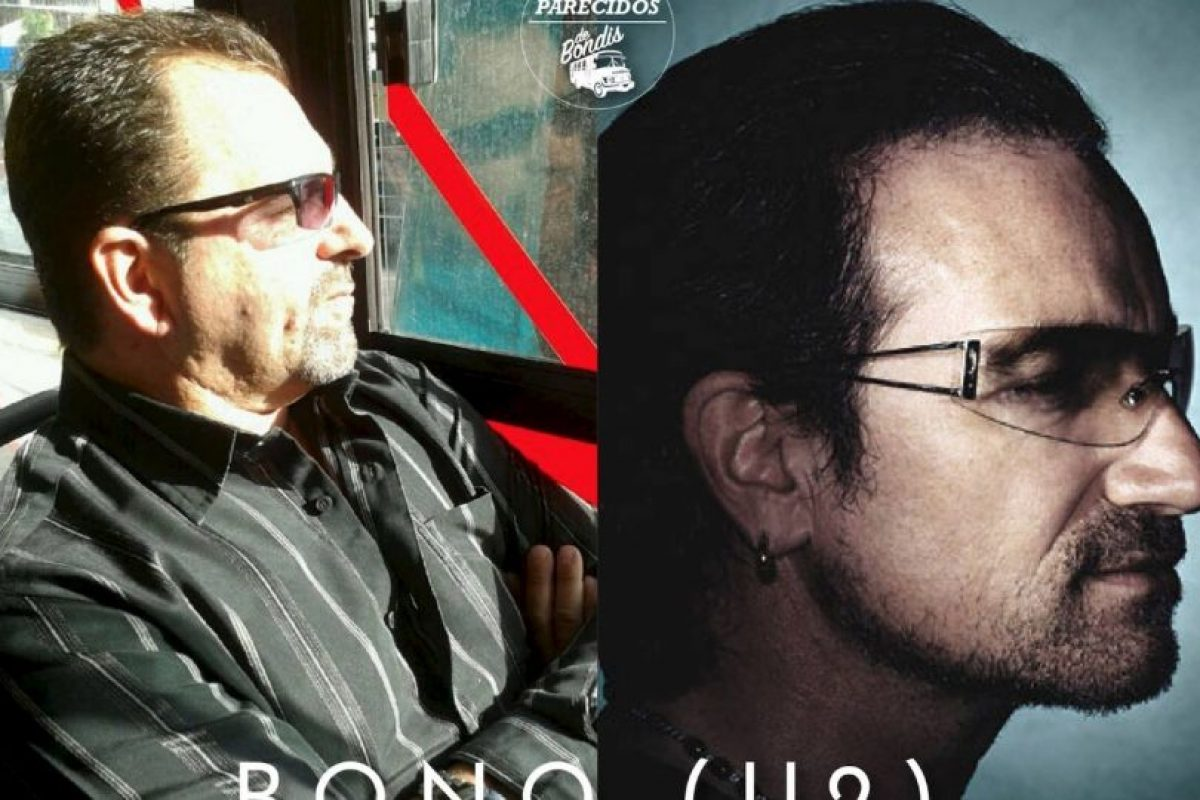 Bono Foto:Parecidos De Bondis/Facebook. Imagen Por: