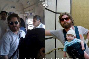 "Alan Garner de ""The Hangover"" Foto:Parecidos De Bondis/Facebook. Imagen Por:"