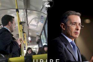 Álvaro Uribe, expresidente de Colombia Foto:Parecidos De Bondis/Facebook. Imagen Por: