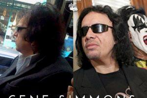 Gene Simmons Foto:Parecidos De Bondis/Facebook. Imagen Por: