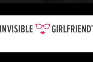 Foto:Vía Facebook.com/invisiblegirlfriend. Imagen Por: