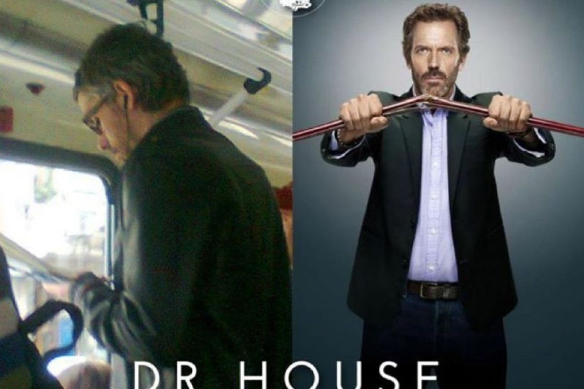 Dr. House Foto:Parecidos De Bondis/Facebook. Imagen Por: