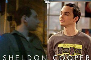 Sheldon Cooper Foto:Parecidos De Bondis/Facebook. Imagen Por: