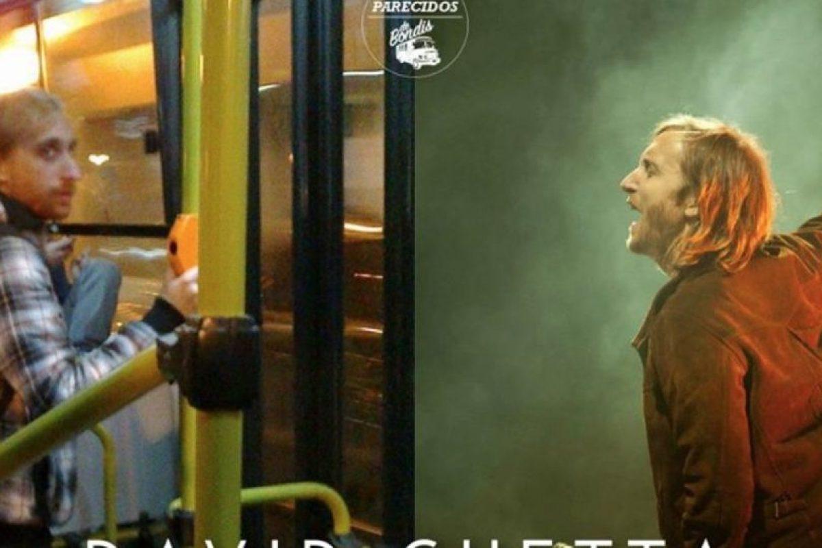 David Guetta Foto:Parecidos De Bondis/Facebook. Imagen Por: