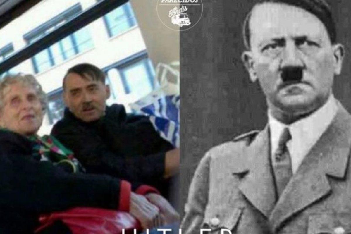 Hitler Foto:Parecidos De Bondis/Facebook. Imagen Por: