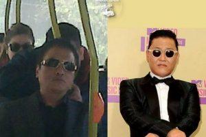 Psy, cantante coreano Foto:Parecidos De Bondis/Facebook. Imagen Por: