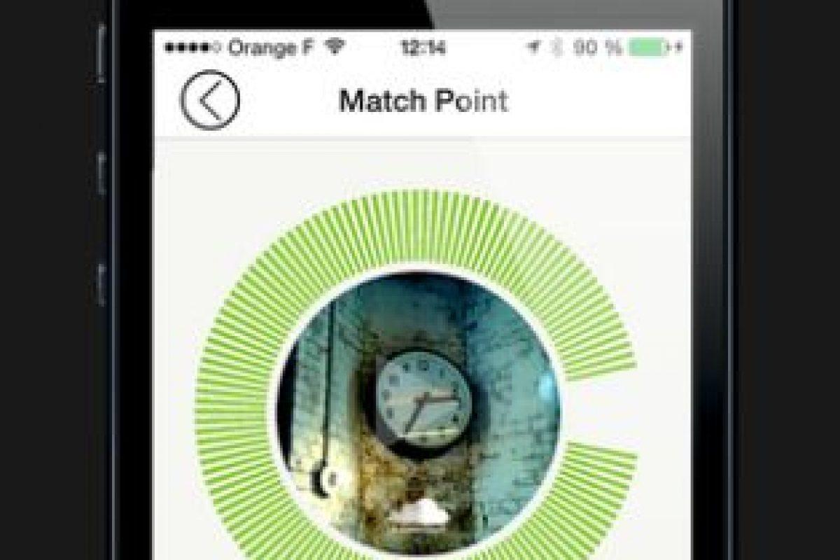 """Similar a """"Tinder"""" cuando sus gustos coinciden con los otros usuarios se crea un """"Match Point"""" Foto:Facebook/Louise. Imagen Por:"""