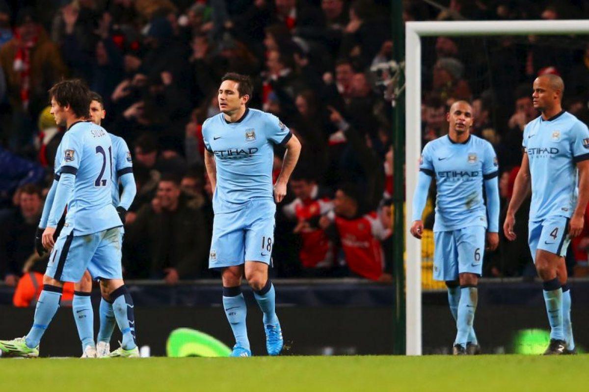 Tienen cinco puntos menos que el Chelsea Foto:Getty. Imagen Por: