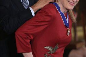 Con Meryl Streep Foto:Getty Images. Imagen Por: