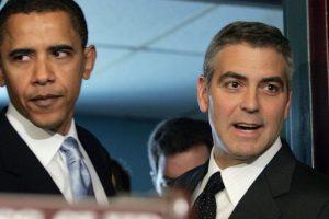 Con George Clooney Foto:Getty Images. Imagen Por: