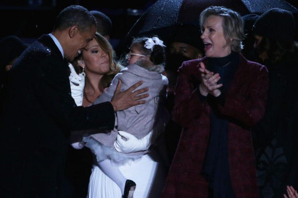 Con Mariah Carey Foto:Getty Images. Imagen Por:
