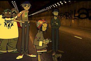 ¿Quiénes estaban detrás de los personajes de Gorillaz? Foto:Twitter. Imagen Por: