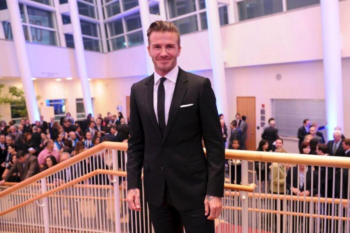 Y confesó que es el chofer particular de sus hijos Foto:Facebook: David Beckham. Imagen Por: