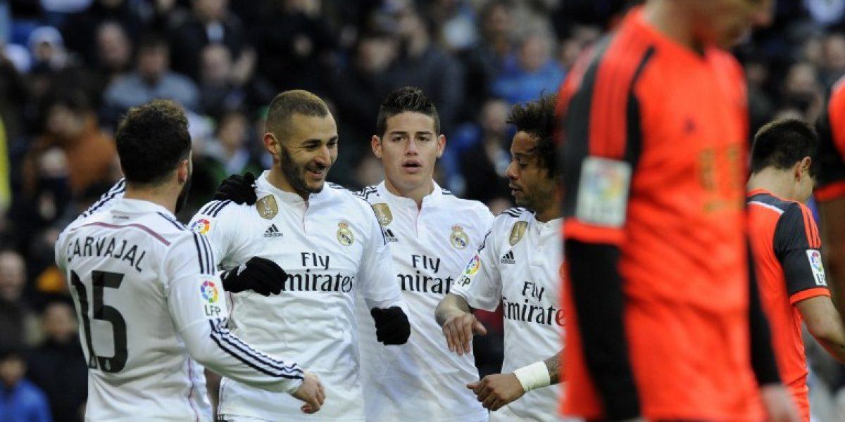 No da respiro: Real Madrid goleó y sigue sólido en la punta de España