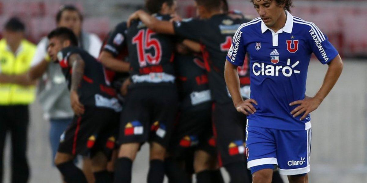 No arranca: La U no levanta cabeza y fue sorprendida por Antofagasta