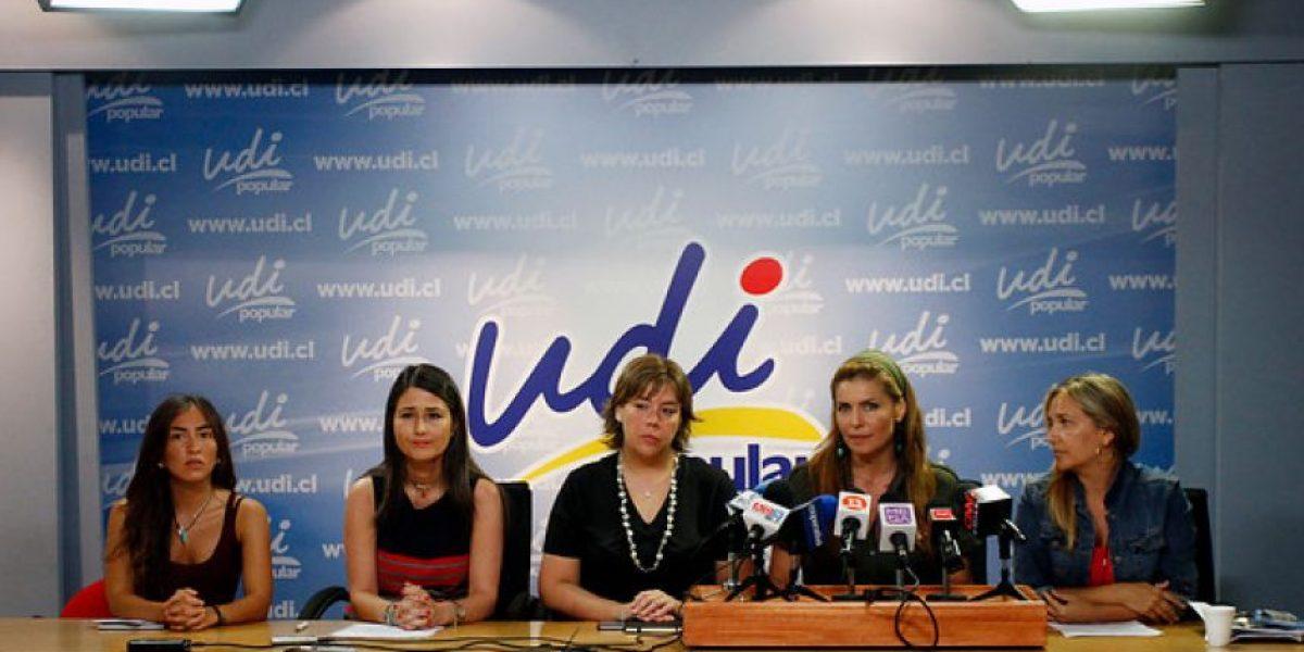 Ex ministra del Sernam junto a parlamentarias UDI critican proyecto de despenalización del aborto