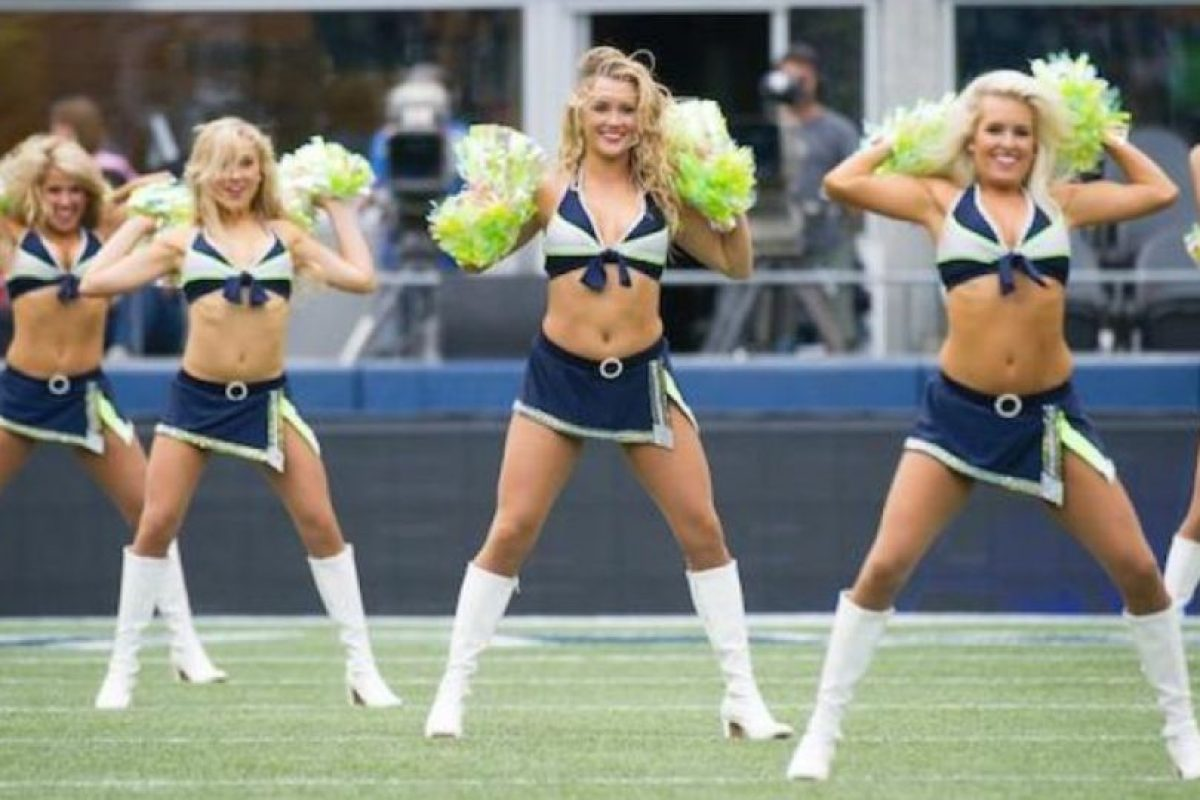 Ellas son las Sea Gals, porristas de Seattle Foto:Seahawks.com. Imagen Por: