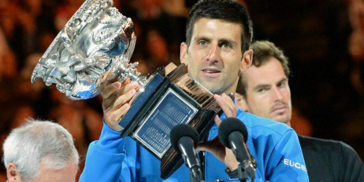 Djokovic derrota a Murray y gana el Abierto de Australia por quinta vez