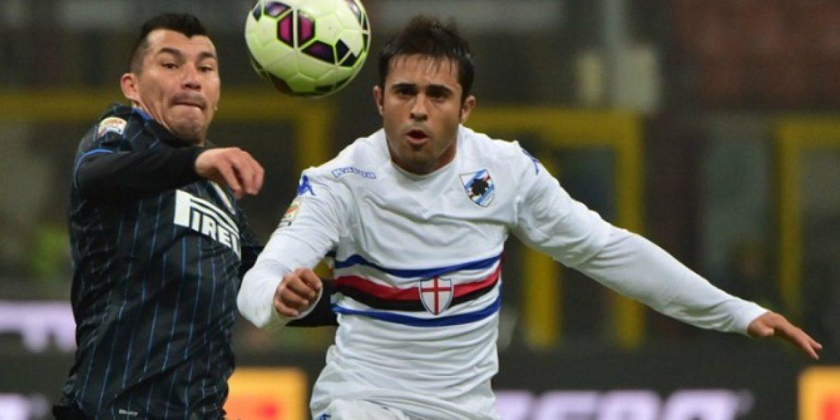 Inter de Milán con Gary Medel no levanta cabeza y vuelven a caer en la Serie A