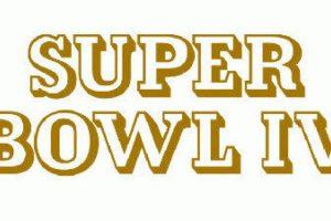 Super Bowl IV Foto:Twitter. Imagen Por: