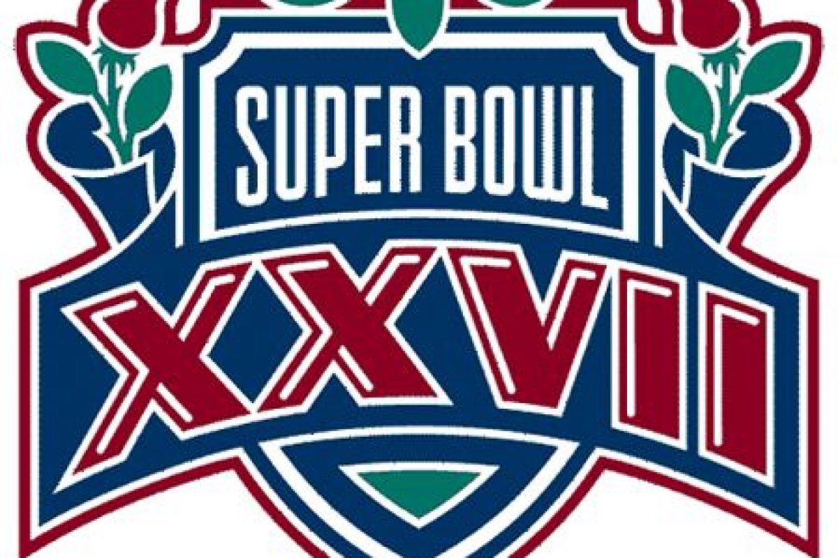 Super Bowl XXVII Foto:Twitter. Imagen Por: