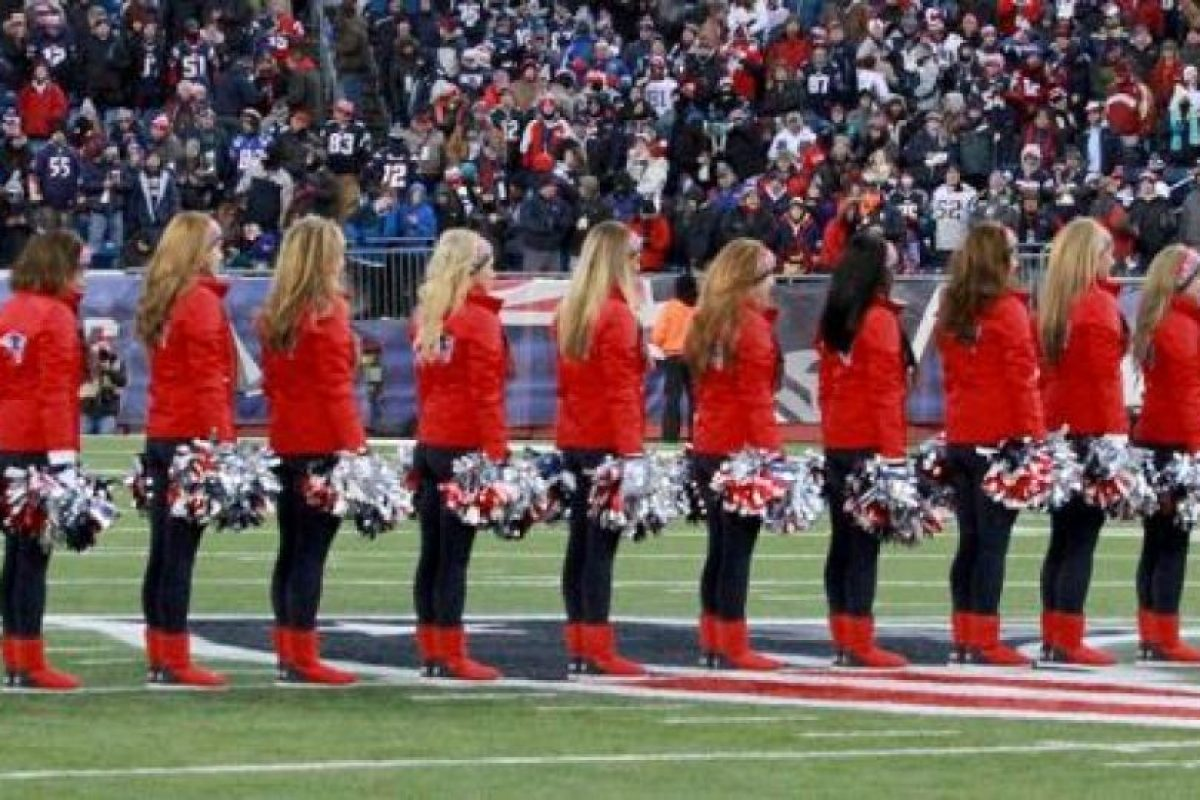 Ellas son las animadoras de los Pats Foto:Facebook: New England Patriots Cheerleaders. Imagen Por: