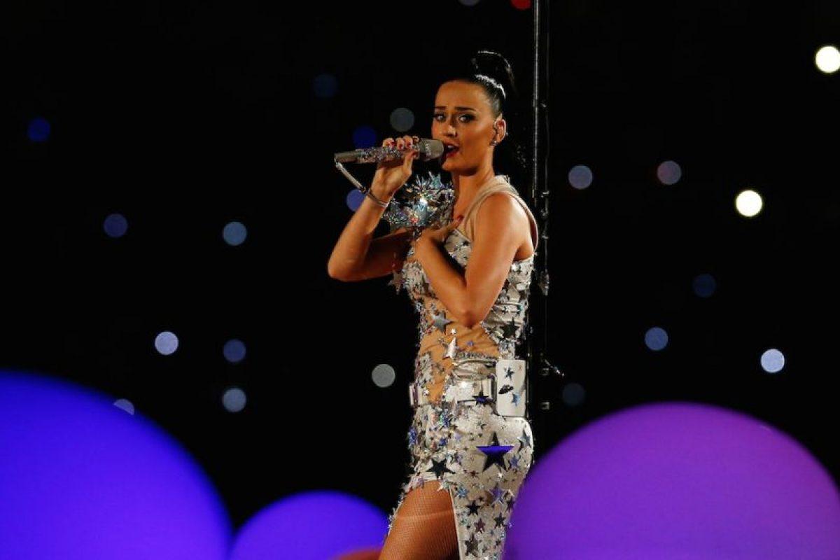 Katy Perry utilizó una correa de Wii. Foto:AFP. Imagen Por: