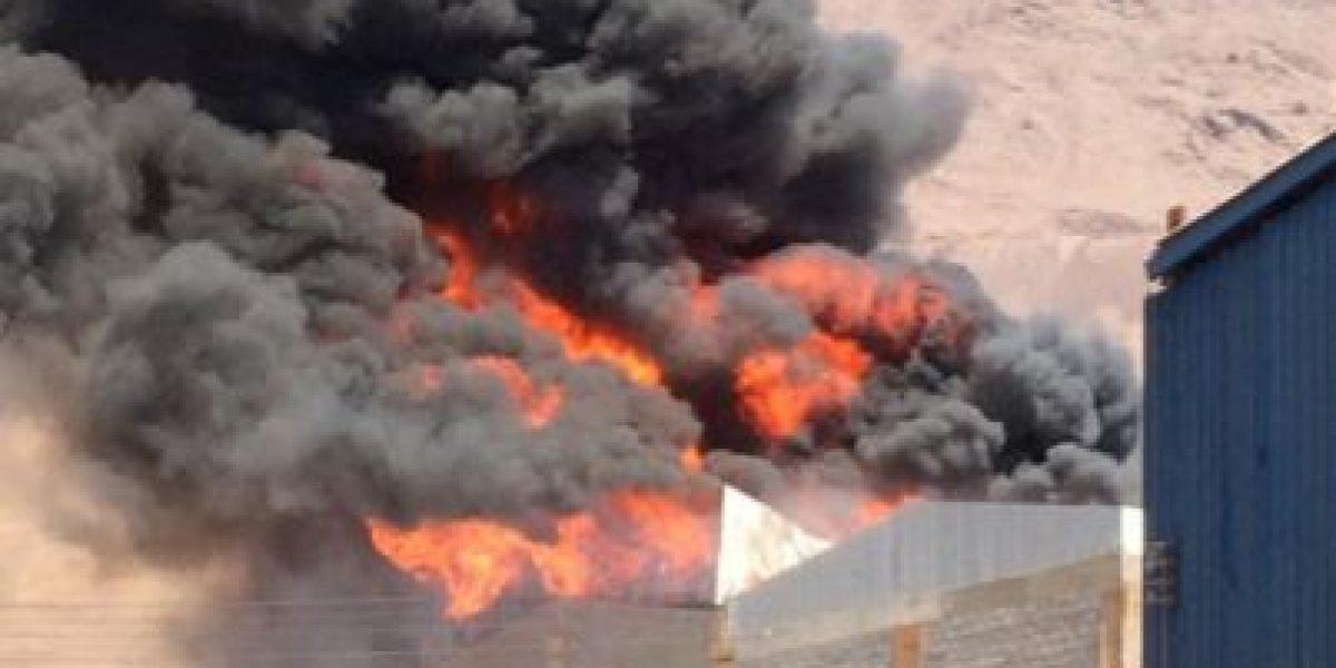 Incendio que afectó a la Zofri está controlado