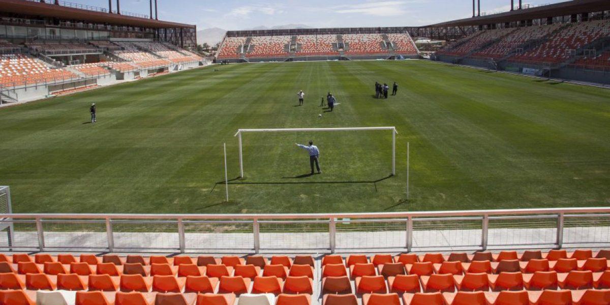 ¿Qué pasa con el estadio de Calama que aún no puede ser inaugurado?