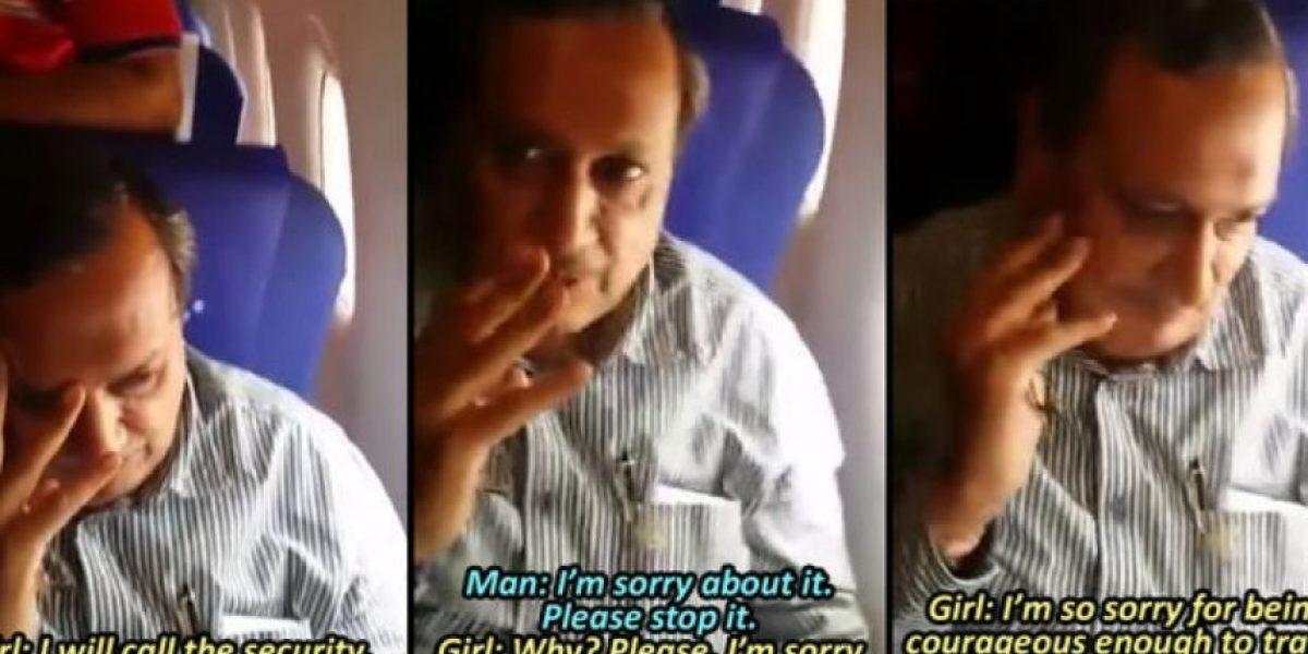 VIDEO: Mujer humilla públicamente a hombre que abusó de ella