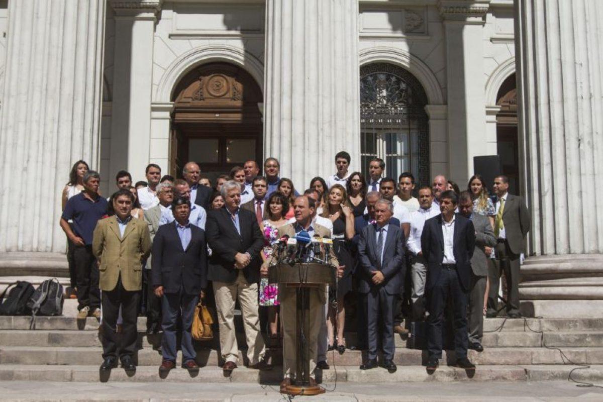 La nueva coalición de centroderecha Foto:Agencia Uno. Imagen Por: