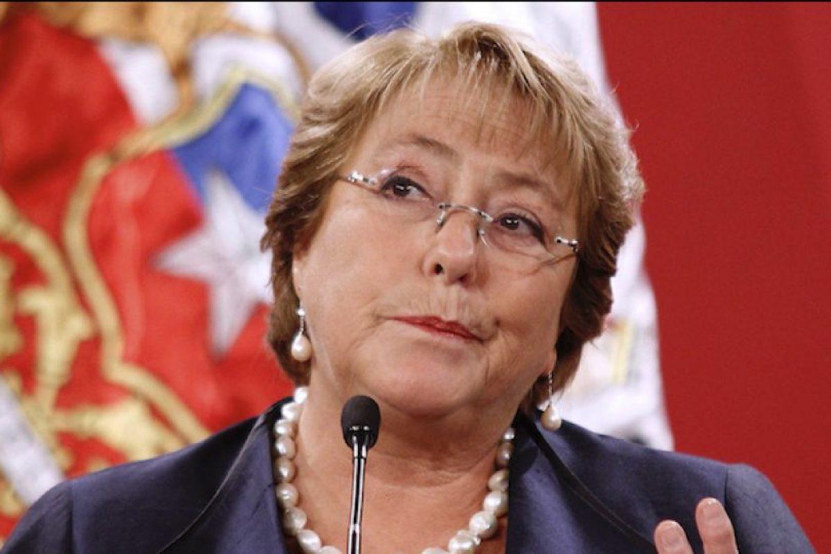 Michelle Bachelet Foto:Agencia Uno. Imagen Por: