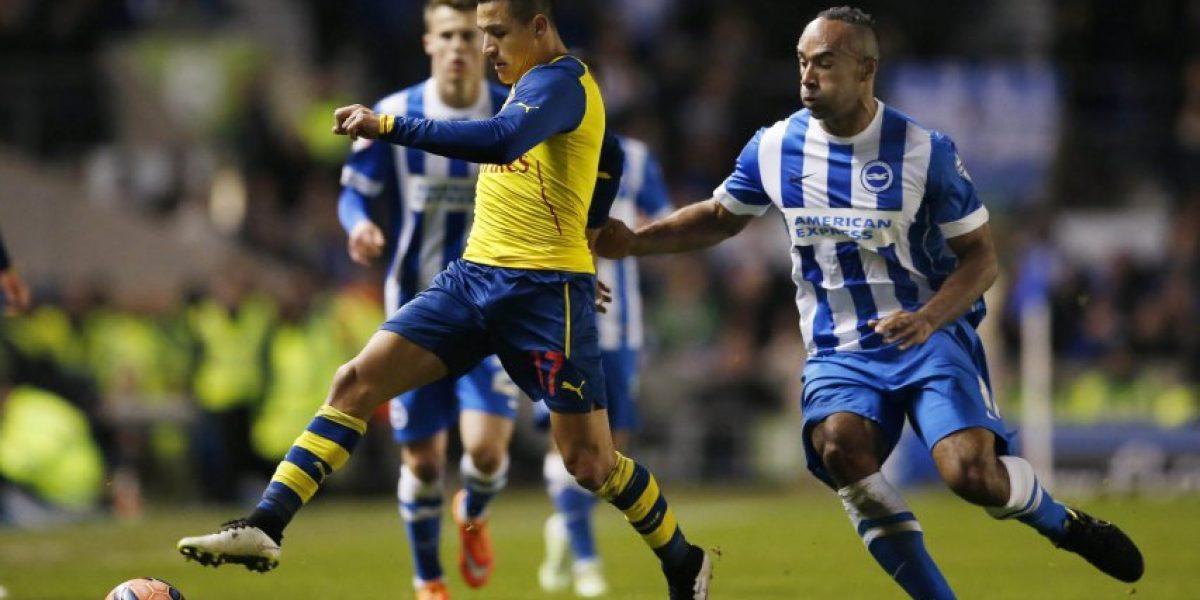 Diario inglés especula con salida de Alexis del Arsenal