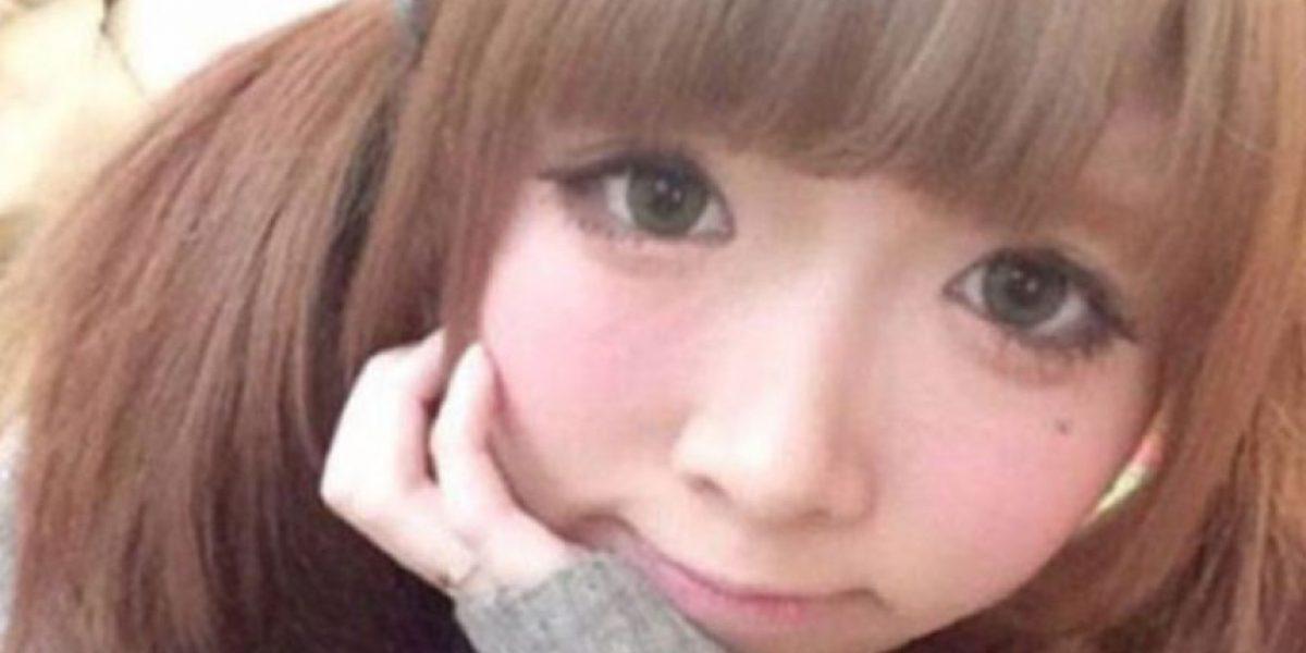 FOTOS: Cuando vean a esta oriental sin maquillaje no lo podrán creer