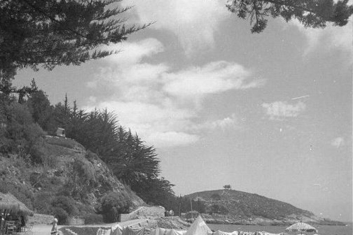 Balneario de Zapallar en el año 1941. Foto:Fotos Históricas de Chile. Imagen Por: