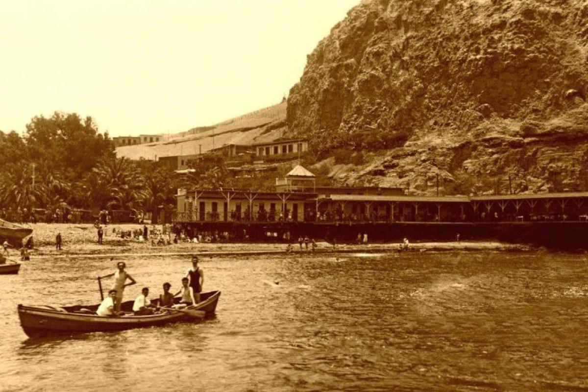 Playa La Rambla y morro de Arica, 1920. Foto:Fotos Históricas de Chile. Imagen Por: