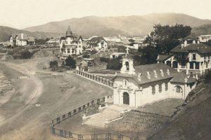 Panorámica del balneario de Papudo en el año 1915. Foto:Fotos Históricas de Chile. Imagen Por: