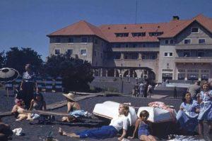 Hotel Pucón, año 1941. Foto:Fotos Históricas de Chile. Imagen Por: