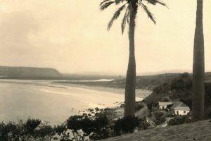 Vista desembocadura del río Aconcagua, Concón 1900. Foto:Fotos Históricas de Chile. Imagen Por: