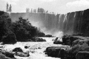 Salto del Laja en 1951. Foto:Fotos Históricas de Chile. Imagen Por: