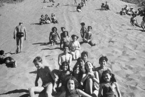 Dunas del balneario de Concón en 1950. Foto:Fotos Históricas de Chile. Imagen Por:
