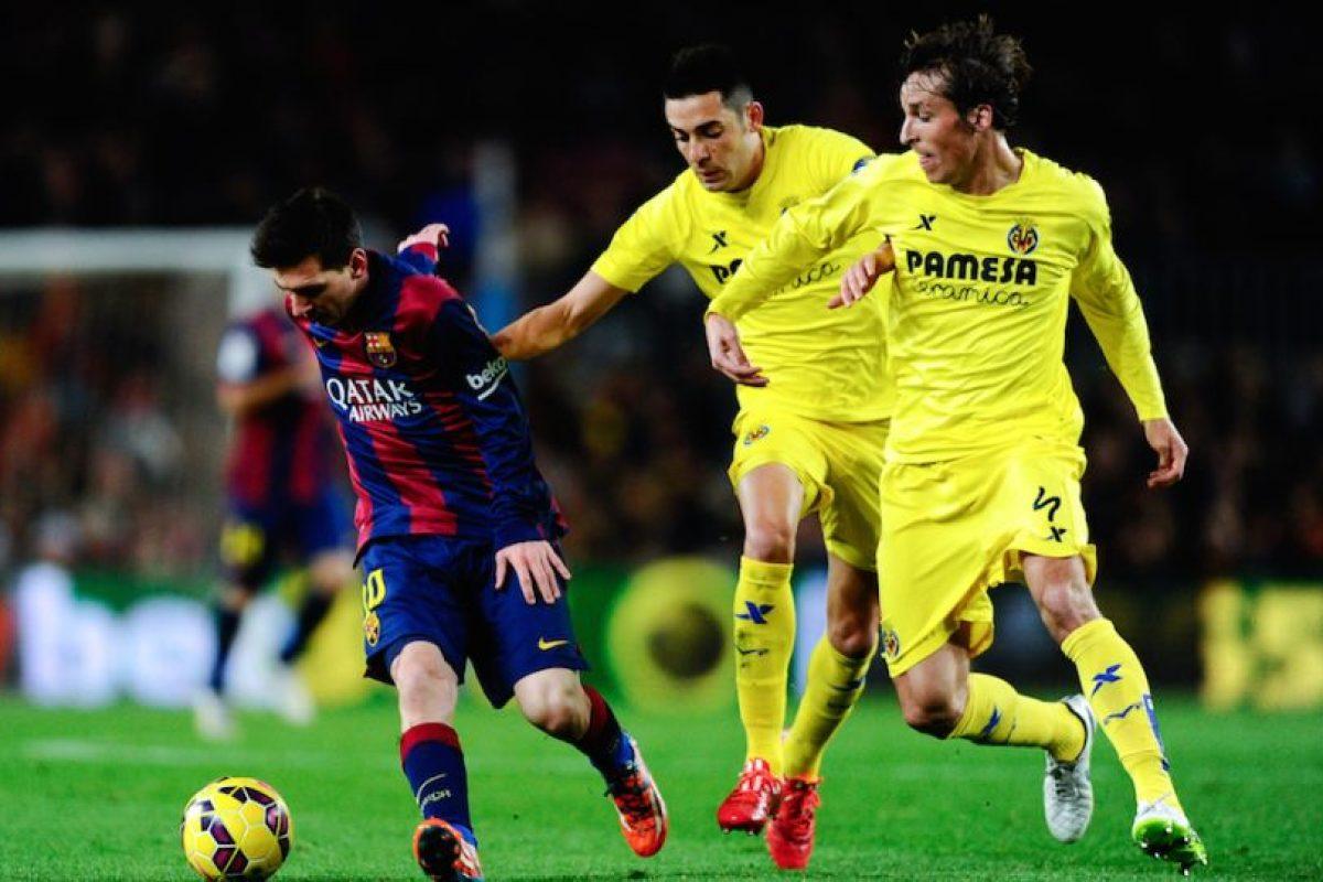 Lionel tuvo una férrea marca todo el tiempo. Foto:Getty Images. Imagen Por: