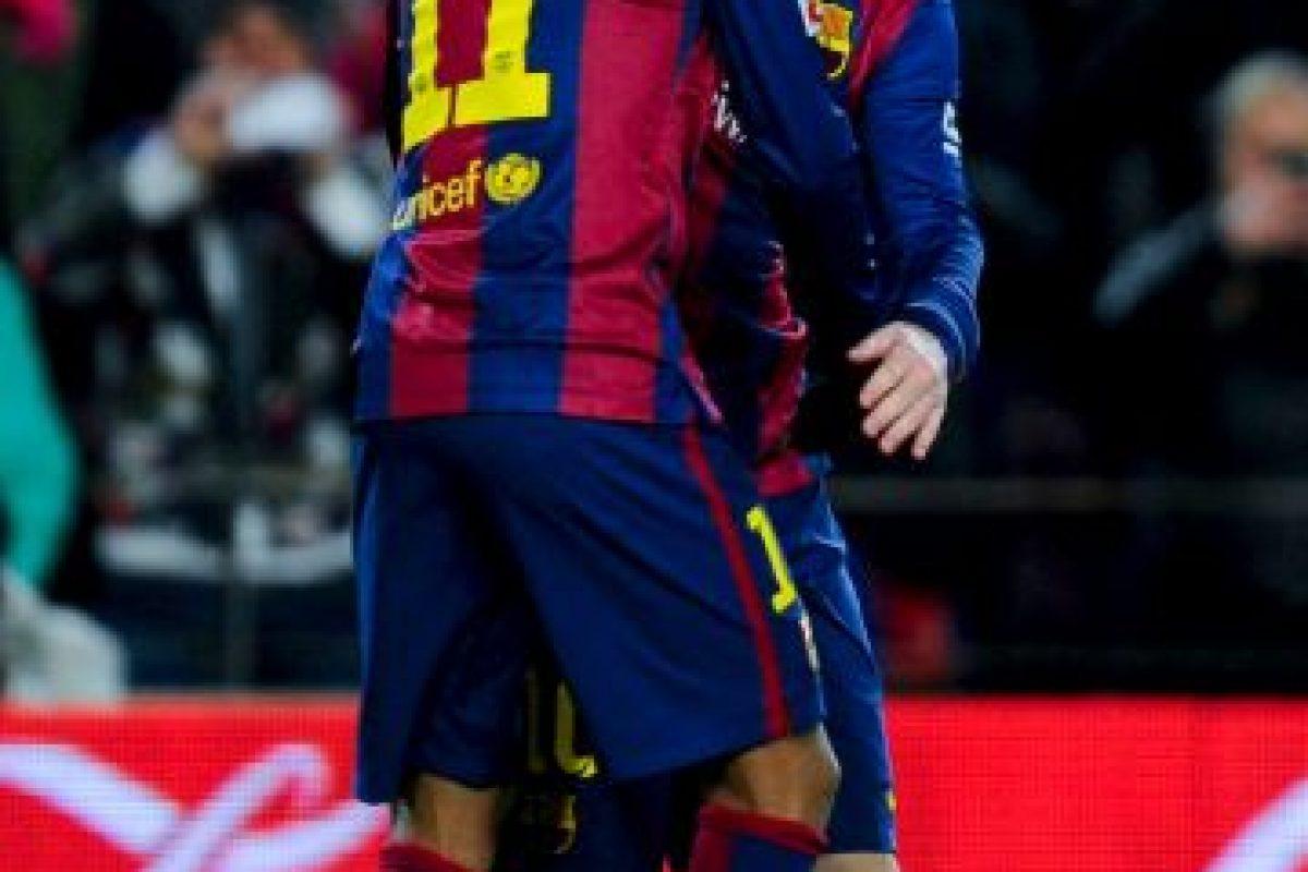 """Esa anotación hizo que el Barcelona ganara 3-2 al """"Submarino amarillo"""". Foto:Getty Images. Imagen Por:"""