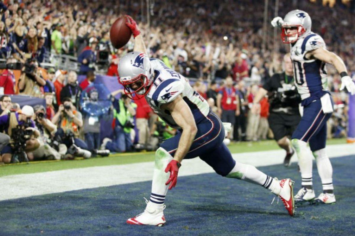 Anotó el touchdown decisivo en el partido del fin de semana pasado Foto:Getty. Imagen Por: