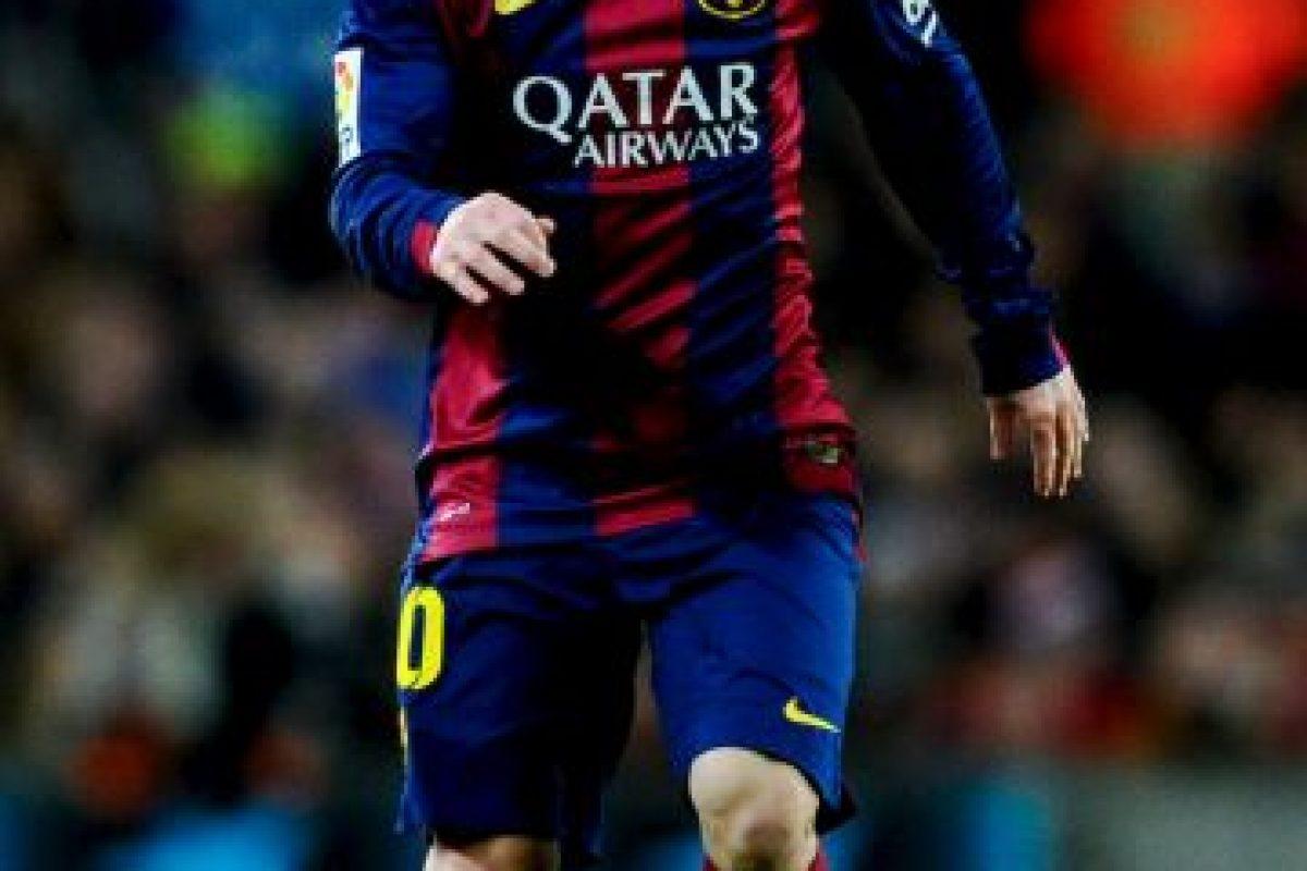 Leo disputó todo el encuentro. Foto:Getty Images. Imagen Por: