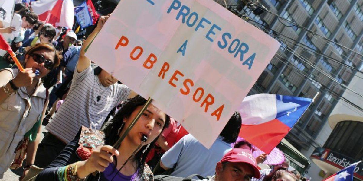 Profesores anuncian movilizaciones por carrera profesional docente
