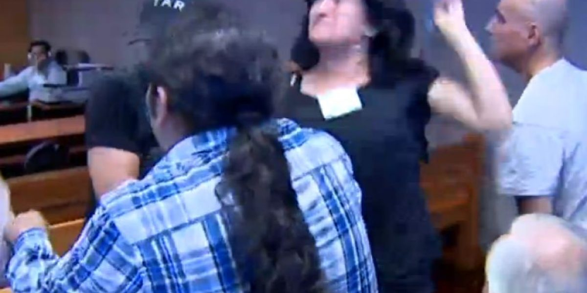 Con escándalo termina condena a 7 años de prisión para sobrina de hermanos Vergara Toledo