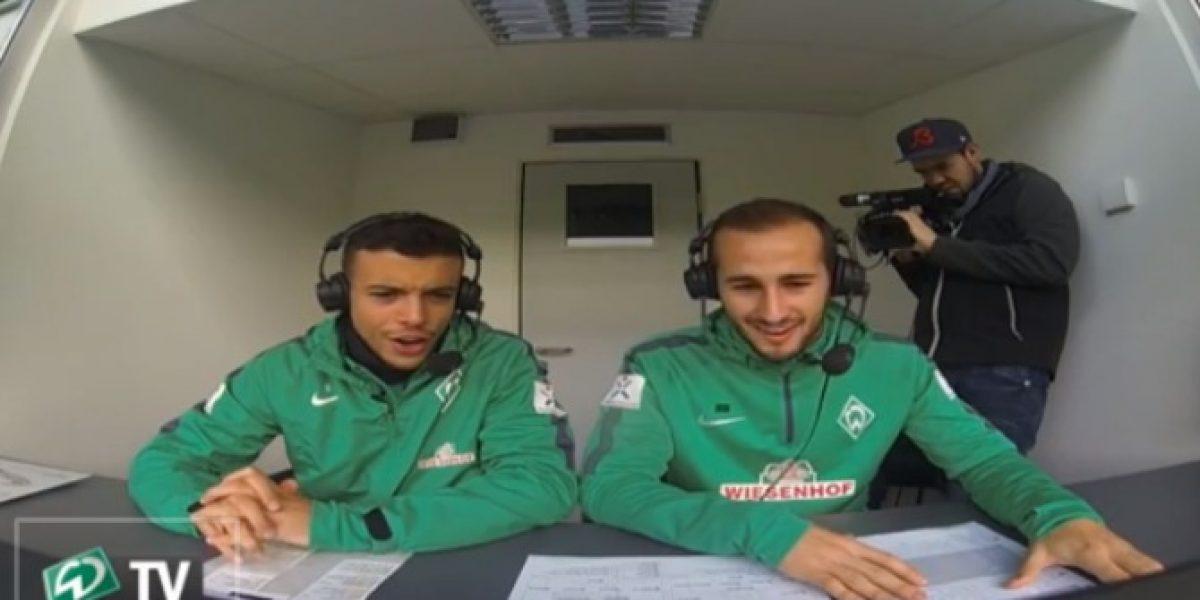 Video: El ex goleador de Audax Italiano que se dedica al relato en Alemania